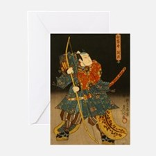 Saitogo Kunitake (1800's) Greeting Cards (6)