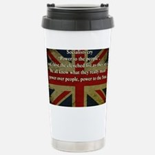 Margaret Thatcher Quote Stainless Steel Travel Mug