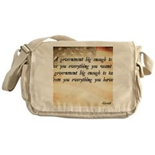Gerald Ford Quote Messenger Bag
