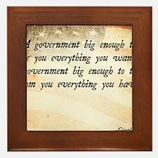 Gerald Ford Quote Framed Tile