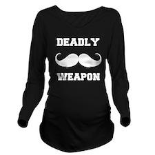 snor84 Long Sleeve Maternity T-Shirt