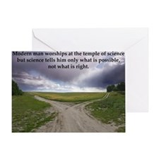Eisenhower Quote Greeting Card