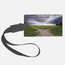 Eisenhower Quote Luggage Tag