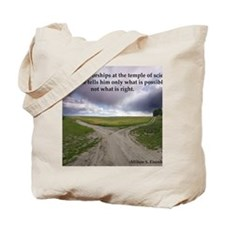Eisenhower Quote Tote Bag