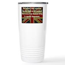 Margaret Thatcher Equality Thermos Mug