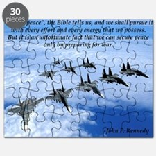 John F. Kennedy Military Quote Puzzle