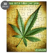 Legalize Marijuana Puzzle