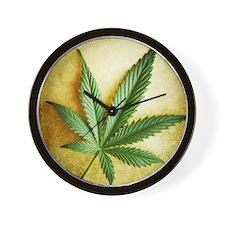 Legalize Marijuana Wall Clock