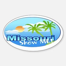 Missour - The Show me State. Decal