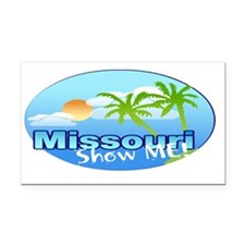 Missour - The Show me State. Rectangle Car Magnet