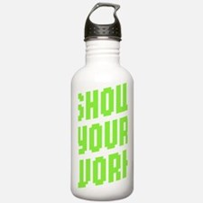 Show Your Work Water Bottle