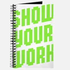 Show Your Work Journal