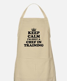 Keep Calm Chef in Training Apron