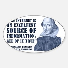 Franklin Quote Decal