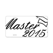 Master 2015 Aluminum License Plate