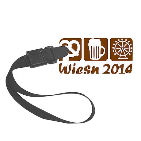Oktoberfest Wiesn 2014 Small Luggage Tag