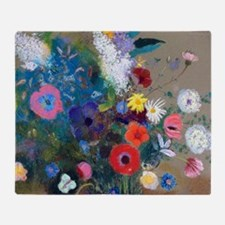 Pic Redon Bouquet Throw Blanket