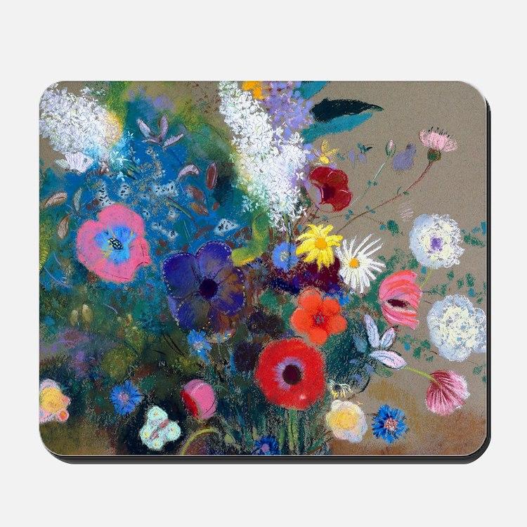 Pic Redon Bouquet Mousepad
