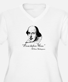 Prose Before Hoes - Shakespeare Quote T-Shirt