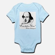 Prose Before Hoes - Shakespeare Quote Infant Bodys