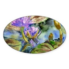 Purple Lily Decal