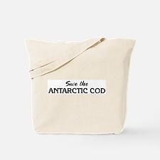 Save the ANTARCTIC COD Tote Bag