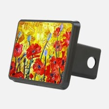 Red Poppy Bed Decorative S Hitch Cover