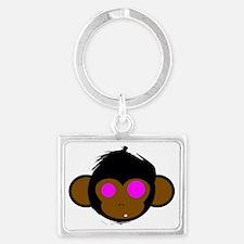 Monkey Landscape Keychain