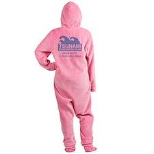 tsunamiBeer1D Footed Pajamas