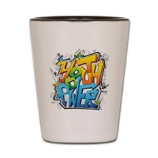 Youth Power Shot Glass