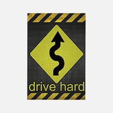 DriveHardiPhone4Slider Rectangle Magnet