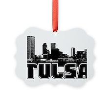 Tulsa Skyline Ornament