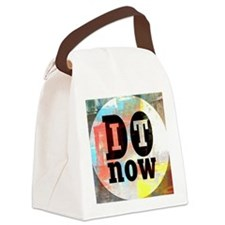 Do It Now Canvas Lunch Bag