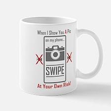 Cell Pic Showing Swipe Mugs
