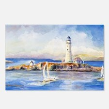 Boston Light Clutch Postcards (Package of 8)