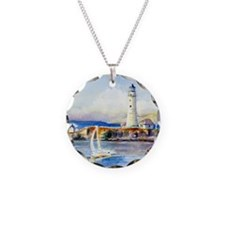 Boston Light Shower Curtain Necklace
