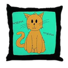 Kitteh v.2.0 Throw Pillow