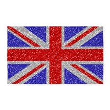British Glam 3'x5' Area Rug