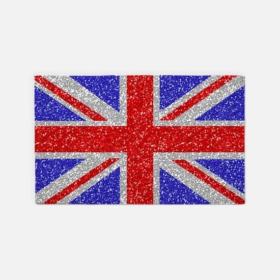 British Glam 3'x5' Area Rug