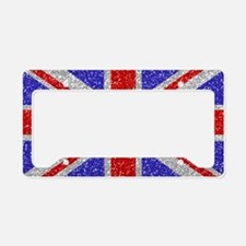 British Glam License Plate Holder