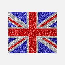 British Glam Throw Blanket