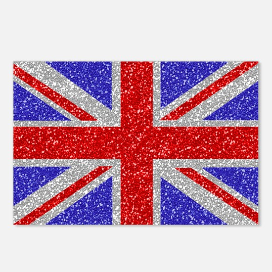 British Glam Postcards (Package of 8)