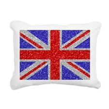 British Glam Rectangular Canvas Pillow