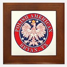 Cestohowa Texas Polish Framed Tile