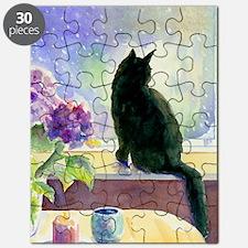 Black Cat Journal Puzzle