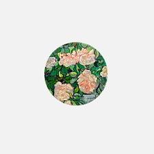 Square Van Gogh Mini Button
