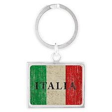Vintage Italia Landscape Keychain