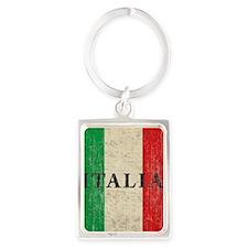 Vintage Italia Portrait Keychain