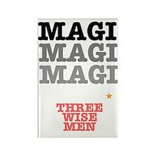 MAGI - THREE WISE MEN Rectangle Magnet