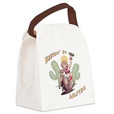 austin-armadillo-T Canvas Lunch Bag